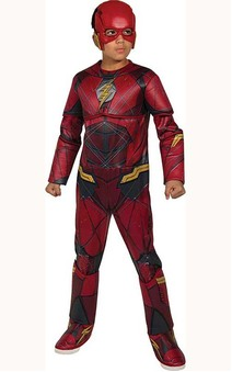 Deluxe Flash Child Justice League Costume