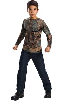 Aquaman Top Child Costume