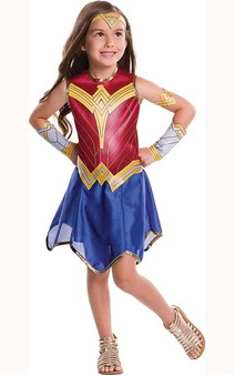Wonder Woman Justice League Child Costume