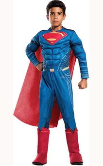 Deluxe Justice League Superman Child Costume
