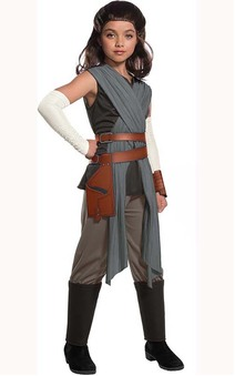 Deluxe Rey The Last Jedi Star Wars Child Costume