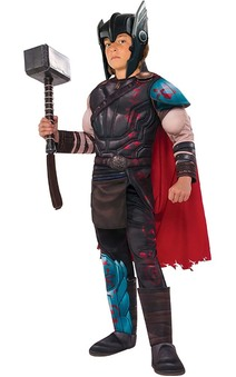Deluxe Thor Gladiator Muscle Chest Child Costume