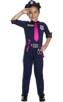 Barbie Police Officer Child Costume