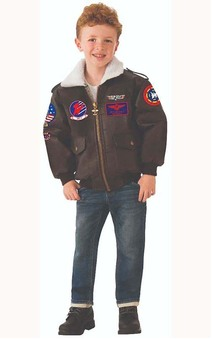 Top Gun Bomber Jacket Child Costume
