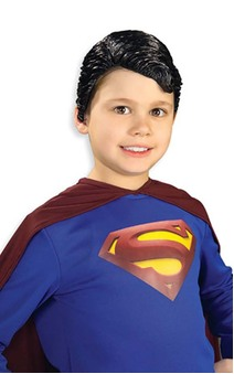 Deluxe Superman Vinyl Child Wig