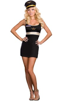 Mile High Captain Mimi Later Adult Costume