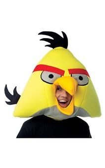 Yellow Angry Birds Adult Mask