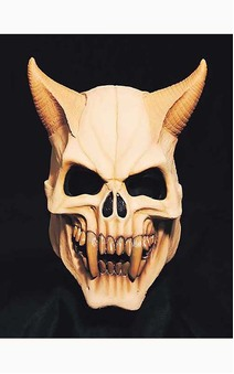 Devil Skull Overhead Adult Mask