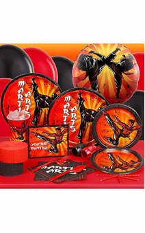 Martial Arts 8 Person Karate Ninja Party Pack