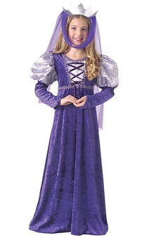 Renaissance Queen Medieval Child Costume