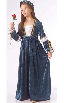 Juliet Renaissance Princess Child Costume