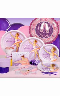 Ballerina 8 Person Party Pack