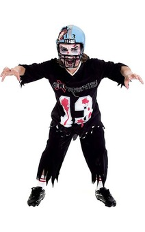 Grid Iron Football Halloween Child Costume