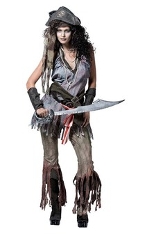 Ghost Pirate Wench Adults Costume