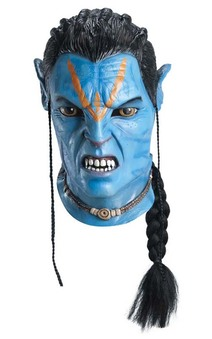 Avatar Jake Sully Overhead Latex Mask