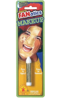 Gold Sports Fanatics Makeup Stick Face Paint