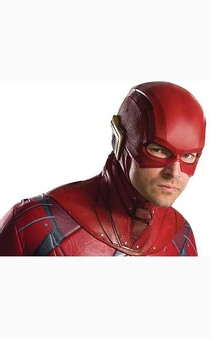 Flash Justice League Overhead Latex Mask