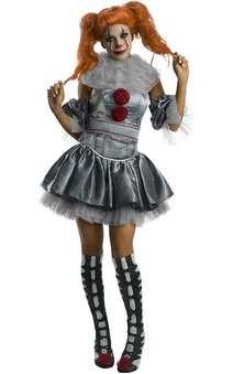 Deluxe Pennywise It Female Adult Womens Costume