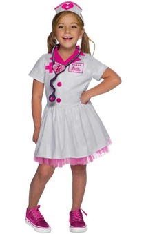 Barbie Nurse Child Doctor Costume
