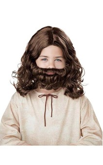 Jesus Wig & Beard Child