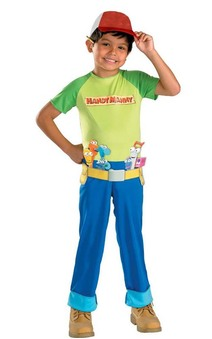 Handy Mandy Builder Child Costume