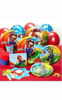Super Mario Bros 8 Person Party Pack