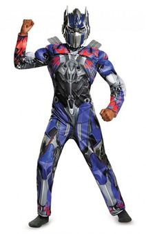 Optimus Prime Muscle Transformers Child Costume