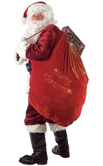 Santa Sack Santa Claus Costume Accessory