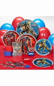 Transformers 16 Person Party Pack