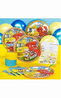 Bob The Builder 8 Person Party Pack
