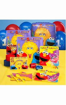 Sesame Street 8 Person Party Pack