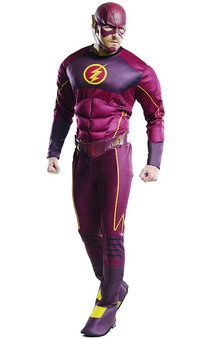 Deluxe Flash Adult Tv Series Costume