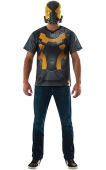 Yellow Jacket T-Shirt Adult Ant-man Costume