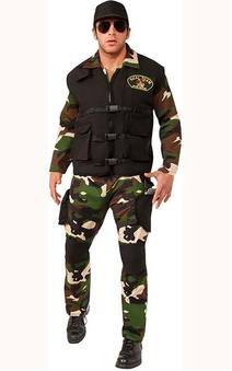 Navy Seal Team 3 Adult Army Costume
