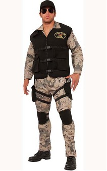 Navy Seal Team 4 Adult Army Costume