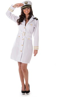 Navy Officer Adult Sailor Costume
