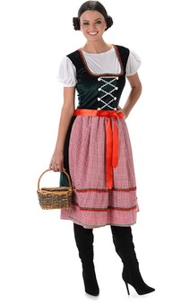 Sound Of Music Alpine Girl Adult Oktoberfest Costume