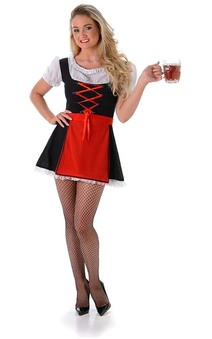 Sexy Bavarian Girl Adult Oktoberfest Costume
