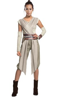 Deluxe Rey Star Wars Adult Costume