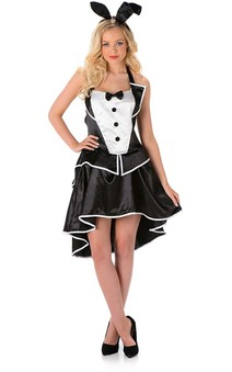 Bunny Hostess Adult Easter Playboy Costume