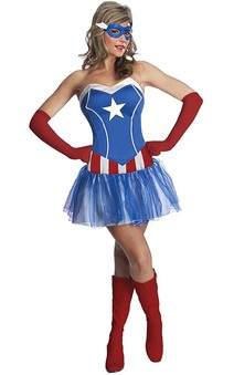 American Dream Captain America Adult Costume