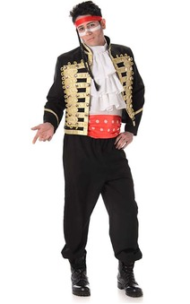 Adam Ant Prince Charming Adult Costume