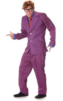 Austin Powers Secret Agent Adult Costume