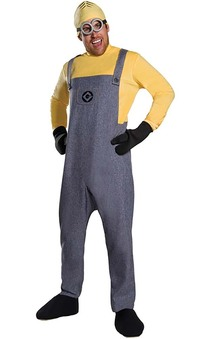 Deluxe Dave Minion Adult Costume