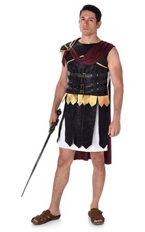 Roman Greek Soldier Adult Hercules Costume