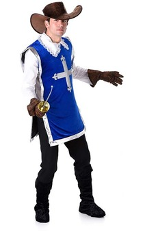 Musketeer Adult Medieval Costume