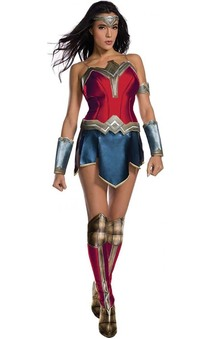 Wonder Woman Secret Wishes Adult Costume