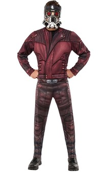 Deluxe Star-lord Guardians Of The Galaxy Adult Starlord Costume