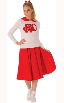 Rydell High Grease Sandy Cheerleader Adult Costume