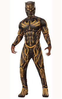 Deluxe Muscle Chest Erik Killmonger Adult Costume
